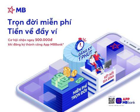 App MBBank Ebanking: Mở tài khoản online dễ dàng mà không cần ra chi nhánh