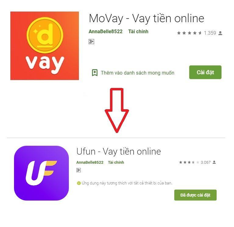 Ufun (Movay) – Cái tên không mấy xa lạ trong làng tín dụng online