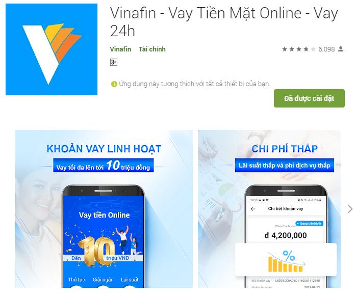 Vinafin – Vay online tín chấp cho các nhu cầu nhỏ, xét duyệt nhanh