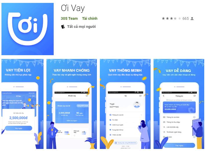 Ơi Vay – Vay tiền online qua ứng dụng di động, nhận kết quả nhanh chỉ vài phút