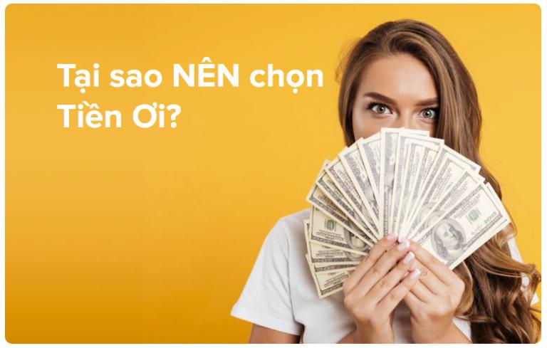 Tiền Ơi – Vay tiền dễ dàng, ai cũng có thể được duyệt online mà không tốn nhiều công sức làm hồ sơ