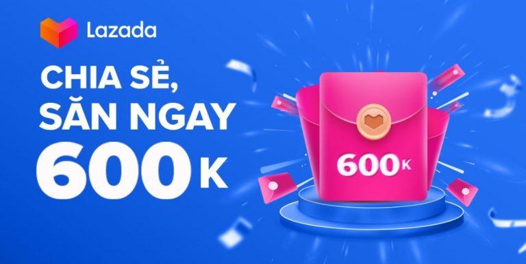 Mã giới thiệu (mời) Lazada, mã khuyến mãi giảm giá Lazada ưu đãi 30K – 300K cho mọi người